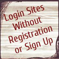 How to login any site without registration or signup