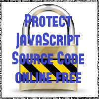 Protect JavaScript source code by encrypting it online free