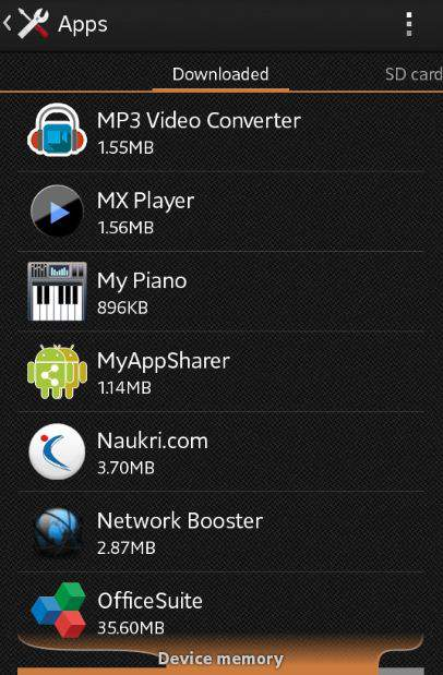 How to change default video player or browser in android