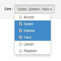 Bootstrap Multiselect - Dropdown with checkbox list with Filter and select all
