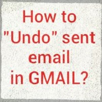 "Now you can undo your sent mail in Gmail, New Feature ""Undo Send"""