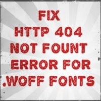 How to fix 404 Not Found Error for .Woff font in ASP.NET MVC