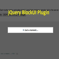 jQuery BlockUI Plugin - Best plugin to block UI till you are processing request