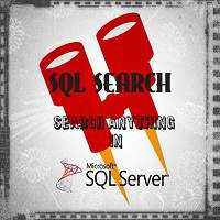 SQL Search - Helps you to search text in SQL database FREE