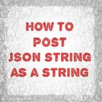 How to post JSON string as a string in jQuery AJAX