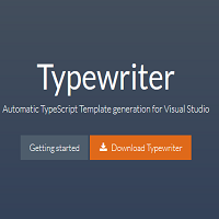 Typewriter - Automatic TypeScript Template generation from C# classes in Visual Studio