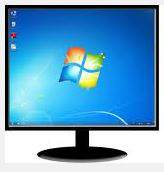 How to move one application from one monitor screen to another monitor (when only main monitor is on) in windows 7 or 8