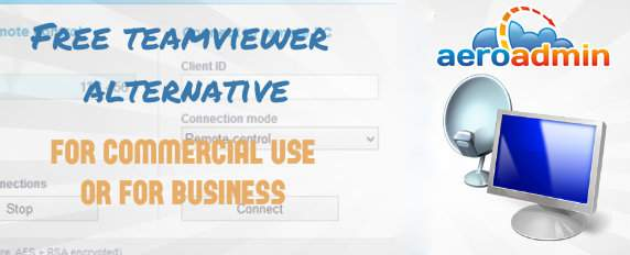 Free teamviewer alternative for commercial use or for